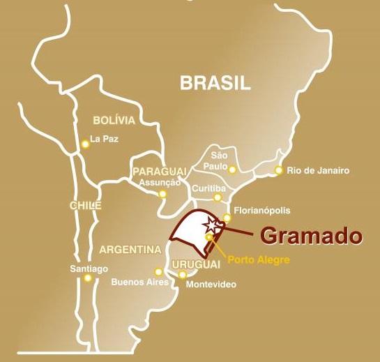 Onde fica Gramado