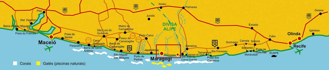 Onde fica Maraogi
